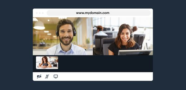 How to embed video calls on your own domain